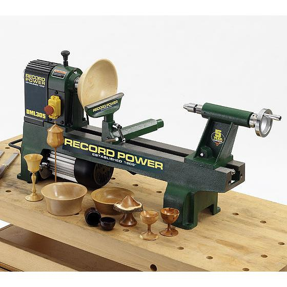 DML305-M33 Cast Iron 6 Speed Midi Lathe